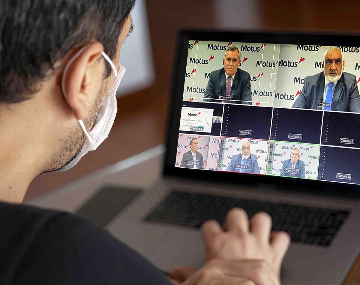 Motus: Virtual Annual General Meeting
